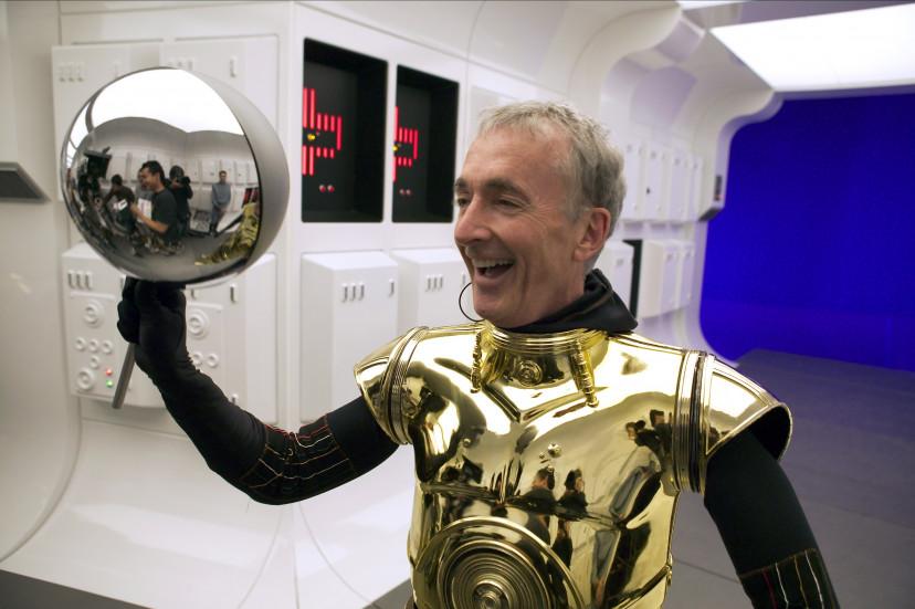『スター・ウォーズエピソード3/シスの復讐』アンソニー・ダニエルズ(C-3PO)
