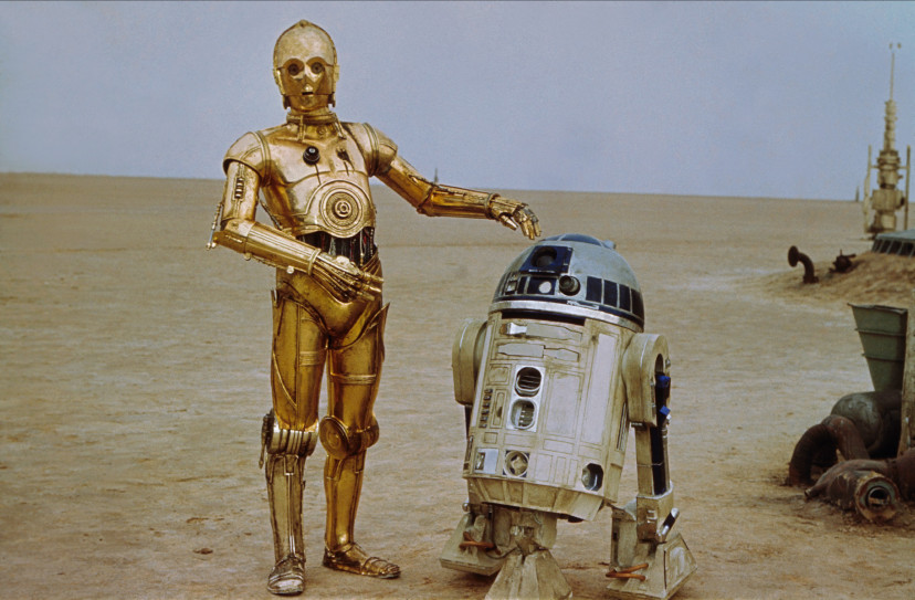 C-3PO、R2-D2『スター・ウォーズエピソード4/新たなる希望』