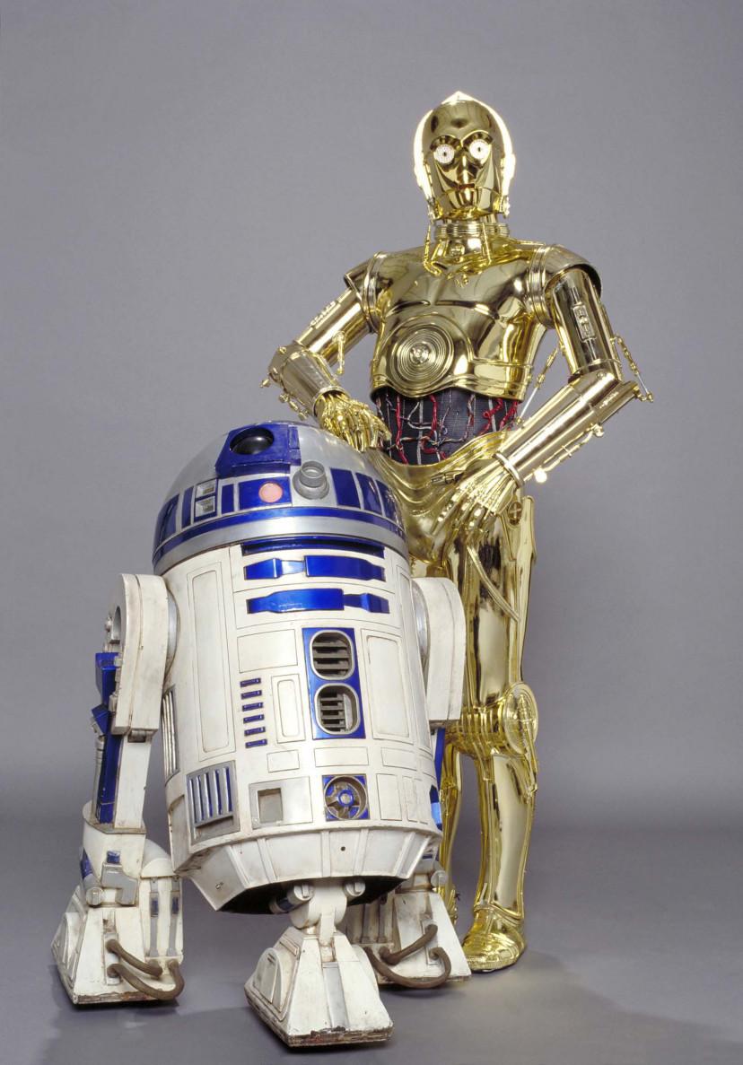 R2-D2とC-3PO「スター・ウォーズ」