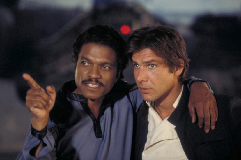 『スター・ウォーズエピソード5/帝国の逆襲』ビリー・ディー・ウィリアムズ、ハリソン・フォード