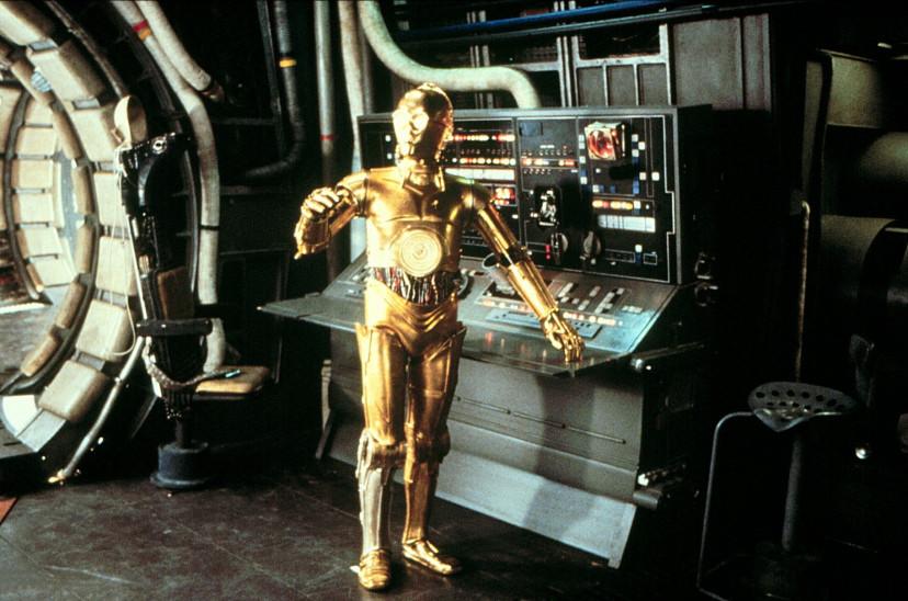 『スター・ウォーズエピソード5/ジェダイの帰還』アンソニー・ダニエルズ(C-3PO)