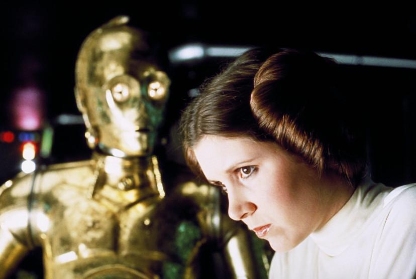 『スター・ウォーズエピソード4/新たなる希望』C-3PO、レイア姫
