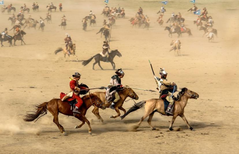 モンゴル 戦士 フリー画像
