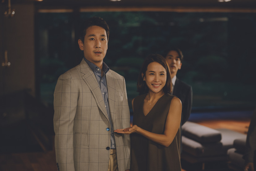 『パラサイト』イ・ソンギュン、チョ・ヨジョン