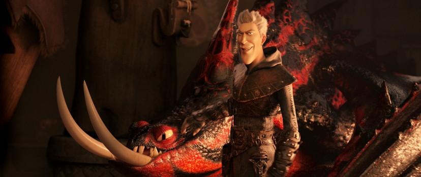 『ヒックとドラゴン聖地への冒険』グリメル(松重豊)