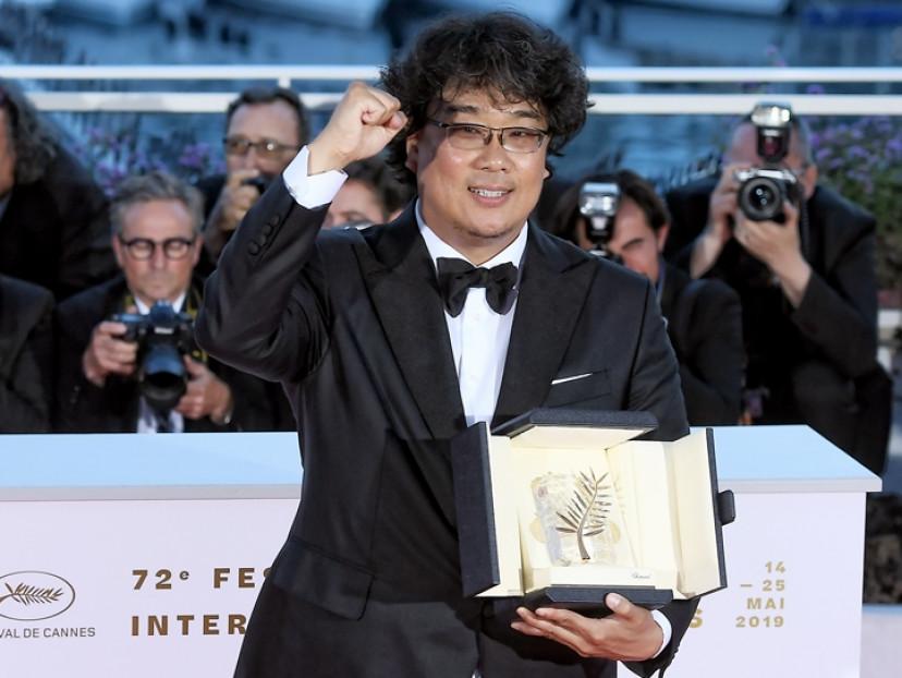 ポン・ジュノ(2019年カンヌ国際映画祭)