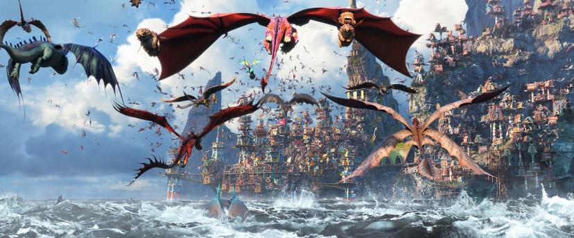 『ヒックとドラゴン聖地への冒険』