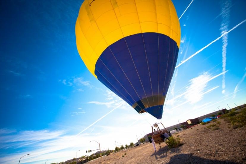 気球、晴れ、青天、青空、アメリカ、フリー素材
