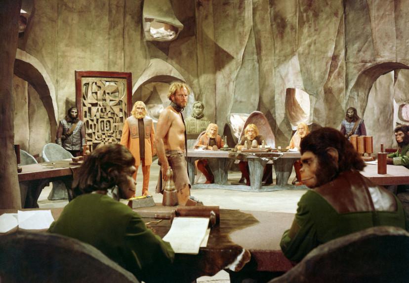 『猿の惑星』(1968)