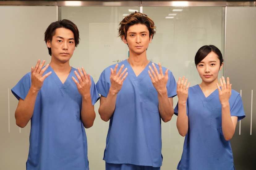 huluオリジナルドラマ「トップナイフ-天才看護師の条件-」