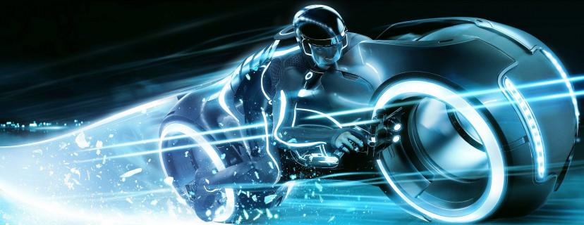 『トロン: レガシー』ライトサイクル