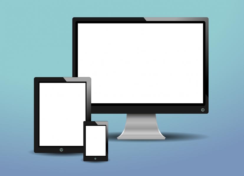 デバイス、パソコン、スマホ、タブレット、スマートフォン