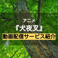 アニメ『犬夜叉』の動画を無料視聴する方法【1話~最終回をアニポより確実に!】