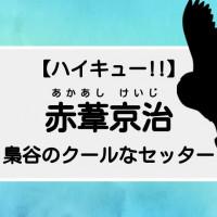 【ハイキュー】赤葦京治、クールな梟谷の副主将!名言や性格も紹介