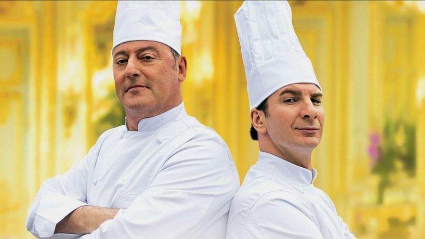 『シェフ!〜三ツ星レストランの舞台裏へようこそ〜』ジャン・レノ、ミカエル・ユーン