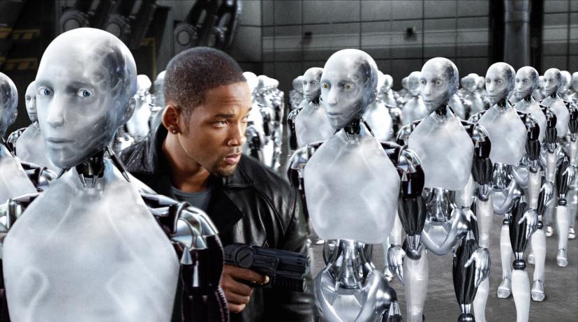 『アイ,ロボット』ウィル・スミス