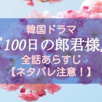 韓国ドラマ『100日の郎君様』全話あらすじをネタバレ有りで紹介【大人気ラブコメ時代劇】