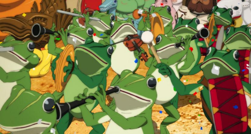 パプリカ パレード 蛙