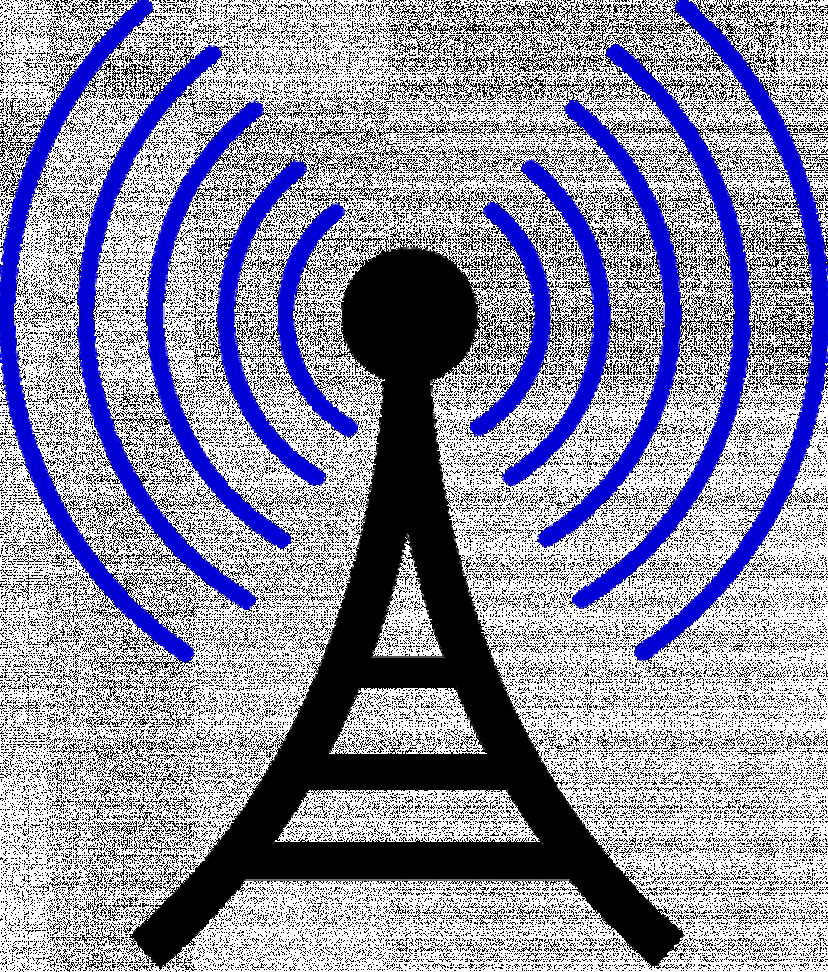 電波 フリー素材
