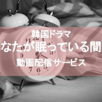 韓国ドラマ『あなたが眠っている間に』の動画を1話から最終回まで無料視聴できる配信サービスは?【日本語字幕・吹き替え】