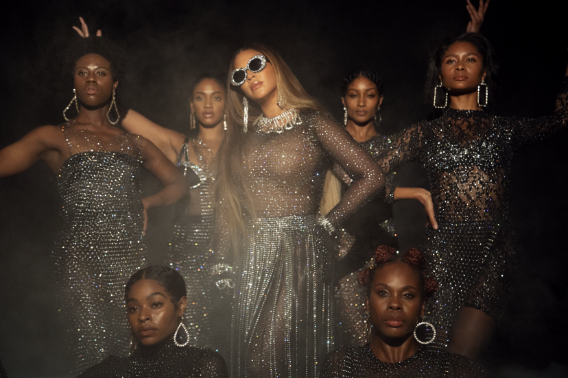 "Beyoncé in ""Find Your Way Back"" from the visual album BLACK IS KING, on Disney+"