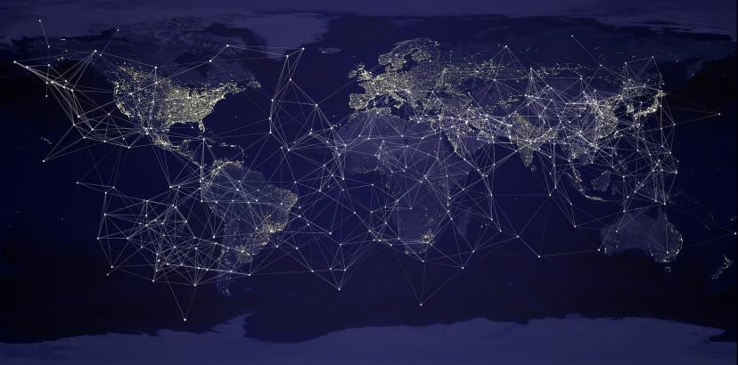 通信、世界、フリー素材