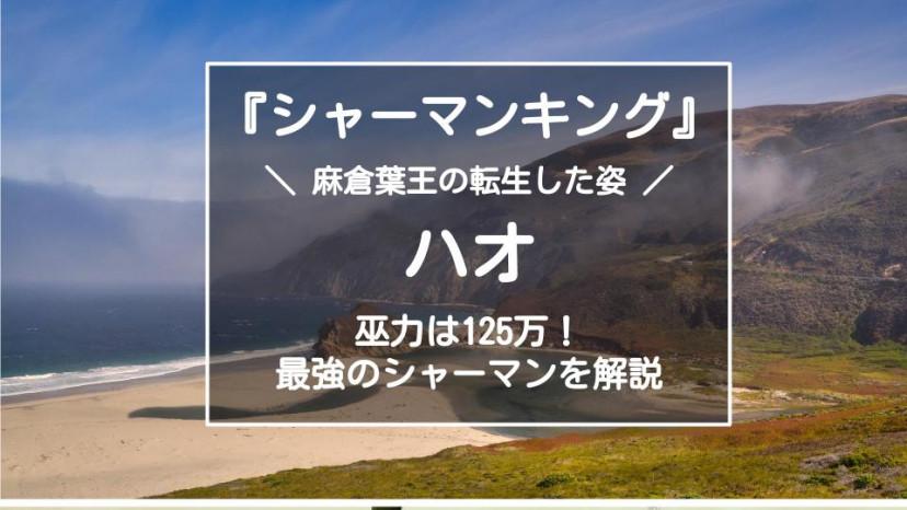 『シャーマンキング』ハオ 編集記事 サムネイル画像