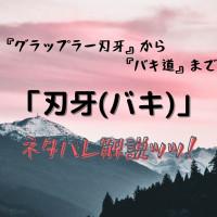 「刃牙」シリーズをネタバレ解説ッッ!『グラップラー刃牙』から『バキ道』まで