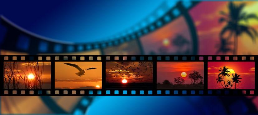 映画、フィルム、フリー素材