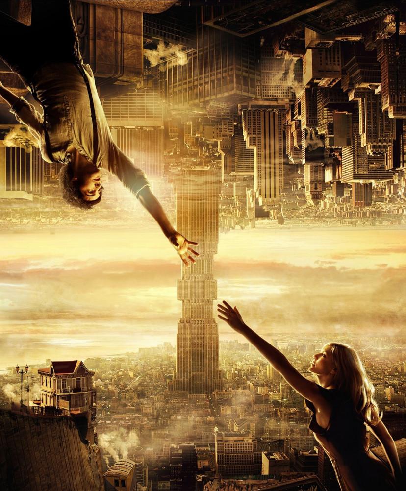 『アップサイドダウン重力の恋人』海外版ポスター