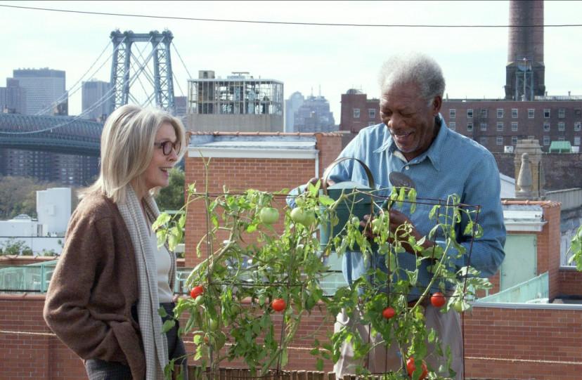 『ニューヨーク眺めのいい部屋売ります』ダイアン・キートン、モーガン・フリーマン