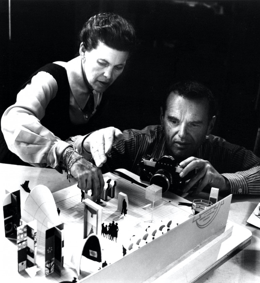 『ふたりのイームズ:建築家チャールズと画家レイ』