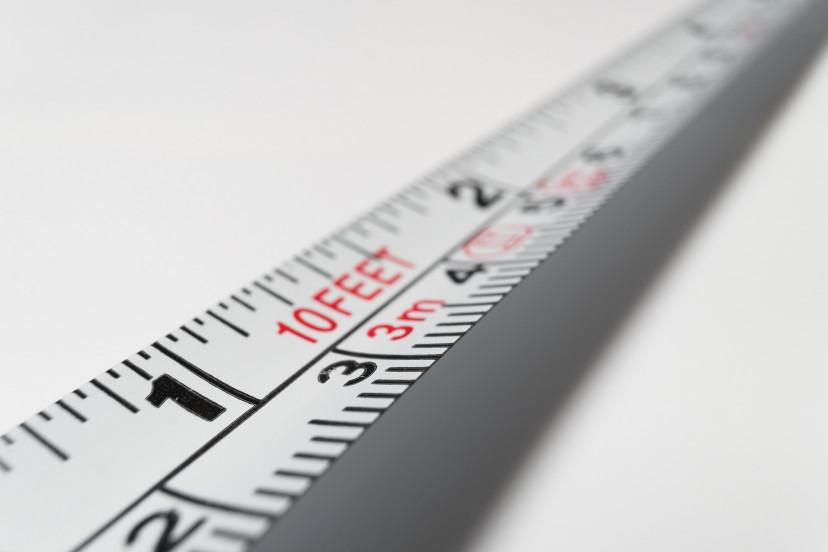 サイズ、巻尺、定規、フリー素材