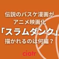 アニメ映画「スラムダンク」が2021年に公開決定!過去放送のアニメは何編まで描かれていた?