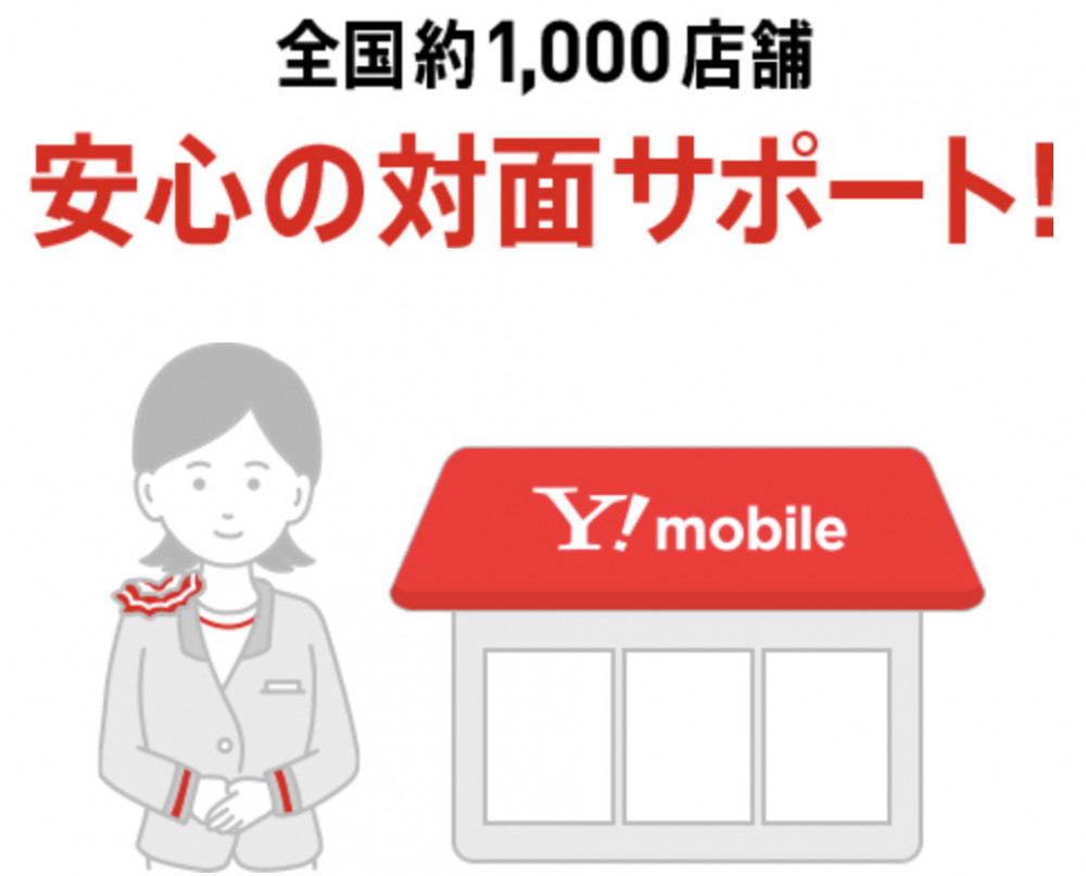 Y!mobile サポート