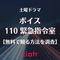 日本版ドラマ『ボイス 110緊急指令室』の動画を無料で見逃し配信中のサービスを紹介【1話から最終回まで】